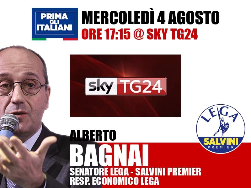 Alberto Bagnai a Economia (Sky TG24)