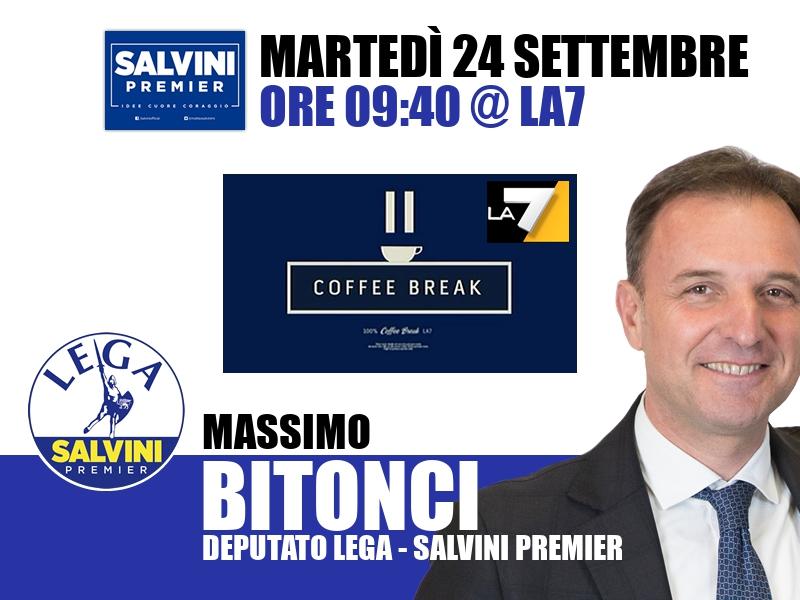 Massimo Bitonci a Coffee Break (La7)