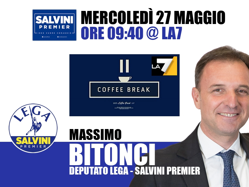 Massimo Bitonci a Coffee Break (La7)