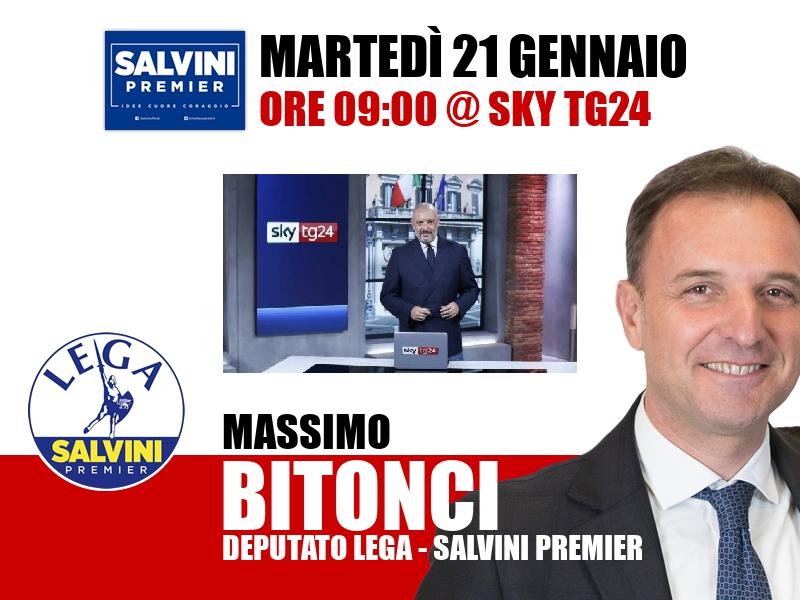 Massimo Bitonci a Start (Sky TG24)