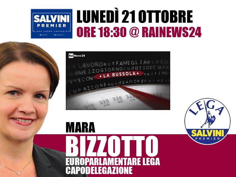 Mara Bizzotto a La Bussola (RaiNews24)