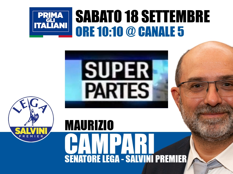 Maurizio Campari a Super Partes (Canale 5)