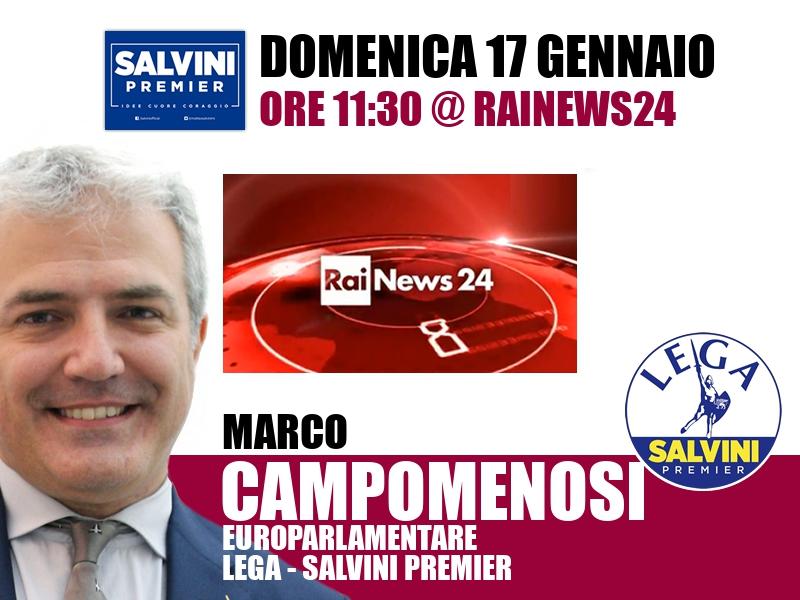 Marco Campomenosi a Rainews24 (RaiNews24)
