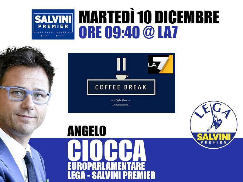 Angelo Ciocca a Coffee Break (La7)