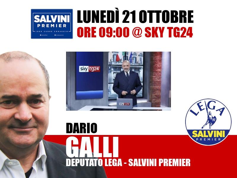 Dario Galli a Start (Sky TG24)