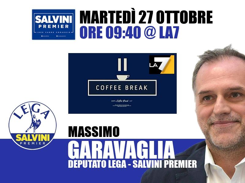 Massimo Garavaglia a Coffee Break (La7)