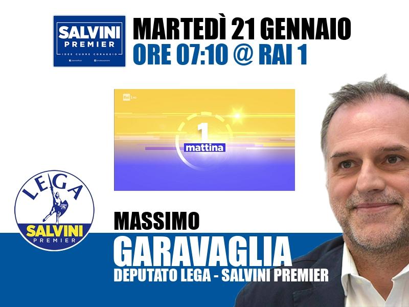Massimo Garavaglia a UnoMattina (Rai 1)