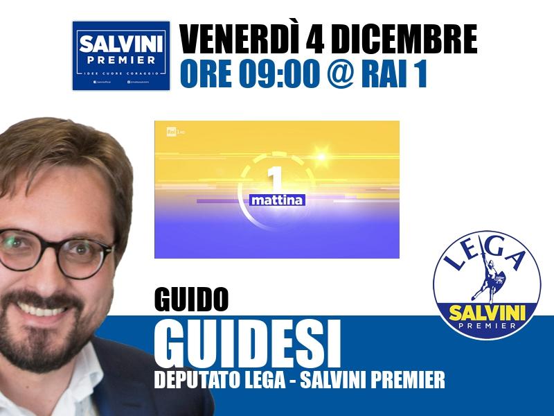 Guido Guidesi a UnoMattina (Rai 1)