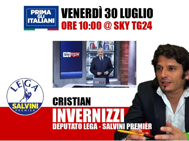 Cristian Invernizzi a Start (Sky TG24)