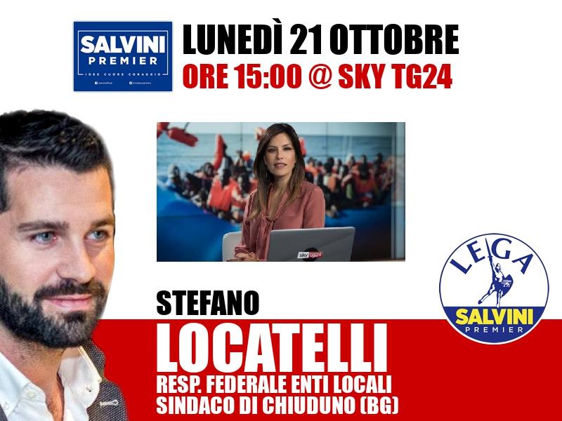 Stefano Locatelli a Timeline (Sky TG24)