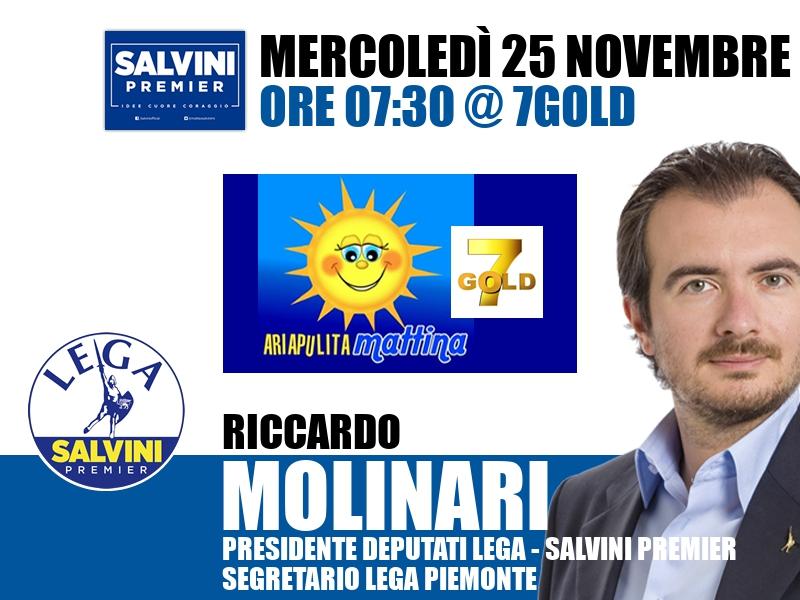 Riccardo Molinari a Aria Pulita (7Gold)