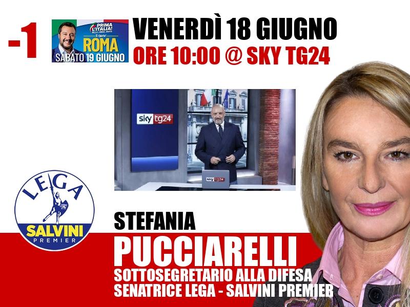 Stefania Pucciarelli a Start (Sky TG24)
