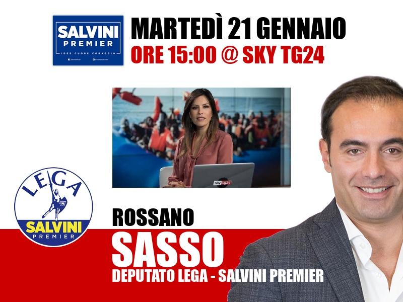 Rossano Sasso a Timeline (Sky TG24)