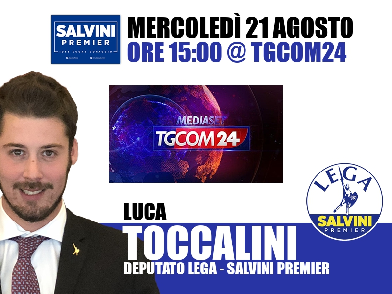 Luca Toccalini a All News (Tgcom24)