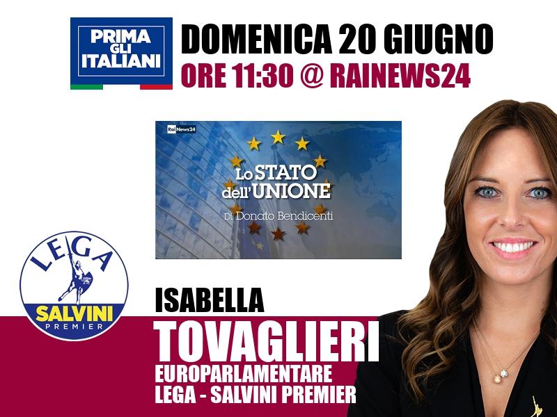 Isabella Tovaglieri a Lo Stato dell'Unione (RaiNews24)