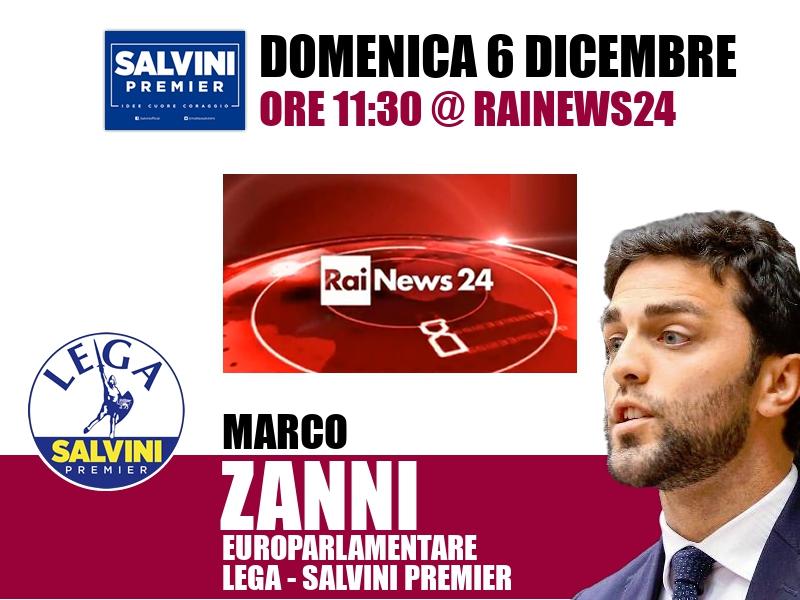 Marco Zanni a Rainews24 (RaiNews24)